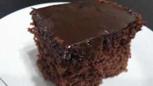 עוגת שוקולד מושלמת בדקה הכנה