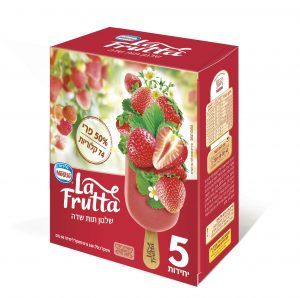 גלידות נסטלה  ארטיקים La- Frutta