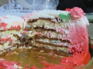 עוגת שוקולד ביסקוויטים פתי בר