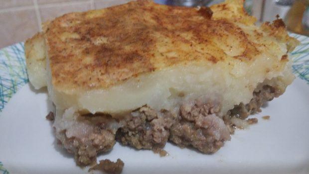 פשטידת פאי רועים ברגע הכנה, קלה, טעימה ולכל המשפחה