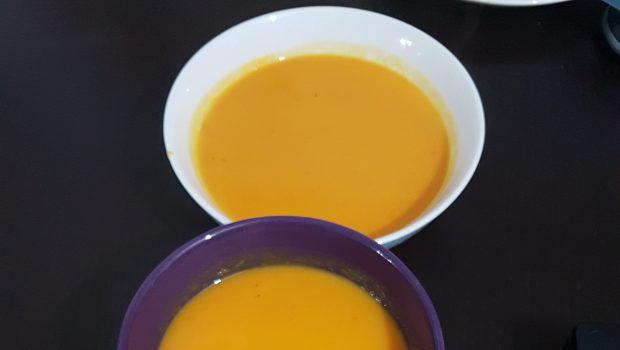 מרק בטטה וכתומים בחמש דקות הכנה – ארוחה טעימה בריאה ומזינה