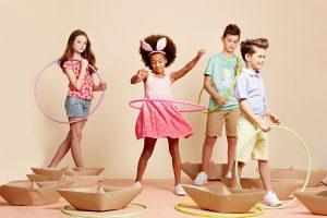 סולוג ילדים לובשים גדולים