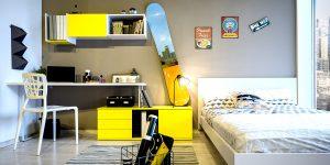 רהיטי דורון ארונות וספריות לילדים