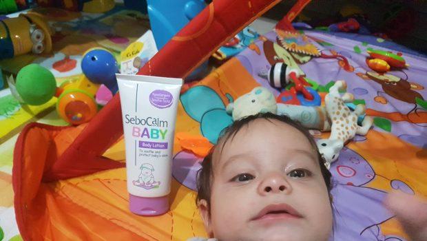 סבוקלם בייבי: תחליב גוף לתינוק להרגעה והגנה על עור התינוק