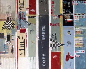 קניון רמת אביב מציג תערוכת אמנים לחודש יולי. איור של נאווה וולנר.