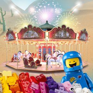 ואו! חגיגה אמיתית לכל אוהבי הלגו, אני שם ואתם? LEGO-PARK בחולון