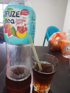 מותג התה הקר  Fuze-tea משיק משקה חדש,  אפרסק-רימון במתיקות מעודנת