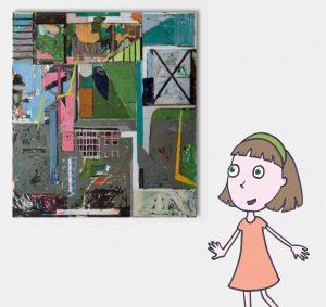 """""""אמנות מופשטת בגובה העיניים"""" -  סיור מודרך וסדנת יצירה לילדים"""