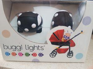 """זוג פנסים בצורת חיפושית לעגלת התינוק מבית """"באגי לייט"""""""