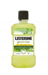 מותג ליסטרין משיק את ליסטרין GREEN TEA: שטיפת פה חדשה עם תמצית תה ירוק למניעה מוגברת של עששת