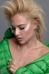 ורד רוזן,  חברה לבעלת מותג התכשיטים IDESIGN,  ויצרה קולקציה  לאישה החזקה