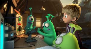 """סרט ילדים: """"החברים הסודיים של לואי"""" (""""Luis and his friends from outer space"""")"""