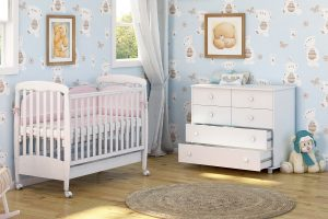 מותג רהיטי התינוקות משכל מבית שמרת הזורע מציג את קולקציית הקינוחים- חדר תינוקות פודינג