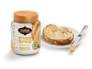 """לרגל ראש השנה משיקה חברת """"אחוה"""" מוצר חדש בסדרת ממרחי הטחינה: ממרח טחינה עם דבש"""
