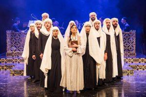"""""""סוליקא"""" - מחזמר ישראלי מקורי של תאטרון באר שבע בכיכובה של הזמרת נסרין קדרי"""