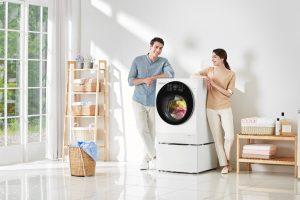 מכבשת - מכונת כביסה וייבוש LG. צילום יחצ חול. (1)