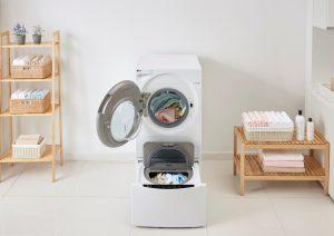 מכבשת - מכונת כביסה וייבוש LG.