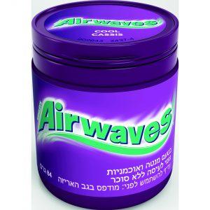 מסטיק AIRWAVES עכשיו באריזה מוגדלת  אריזה של 60 יח' לטעמים נבחרים