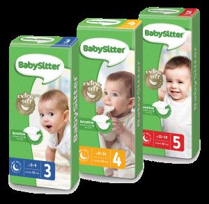 בייביסיטר - החיתול שמתאים לעורם הרגיש של תינוקות