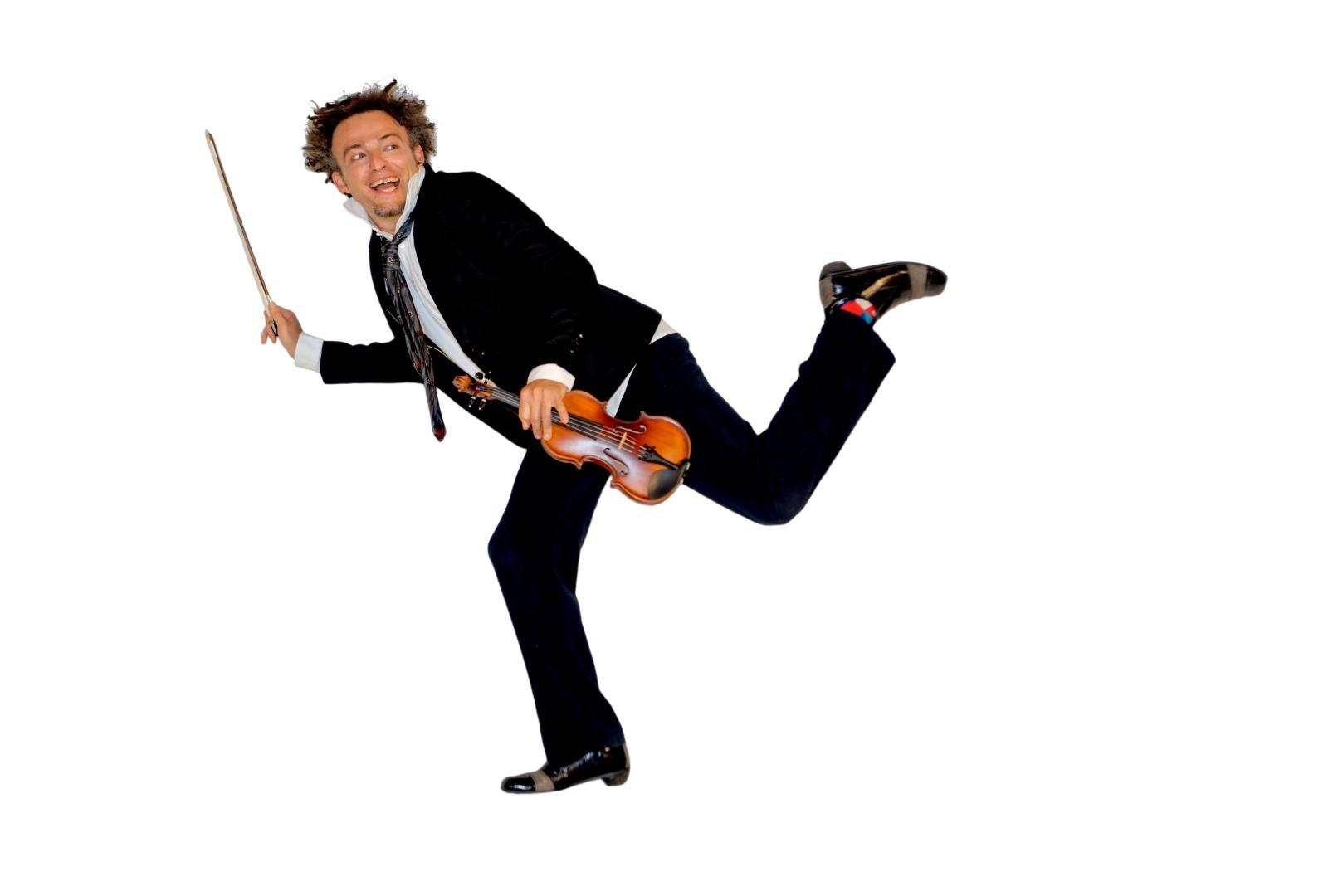 """תזמורת הבמה הישראלית מציגה: """"התזמורת מתה מצחוק"""""""