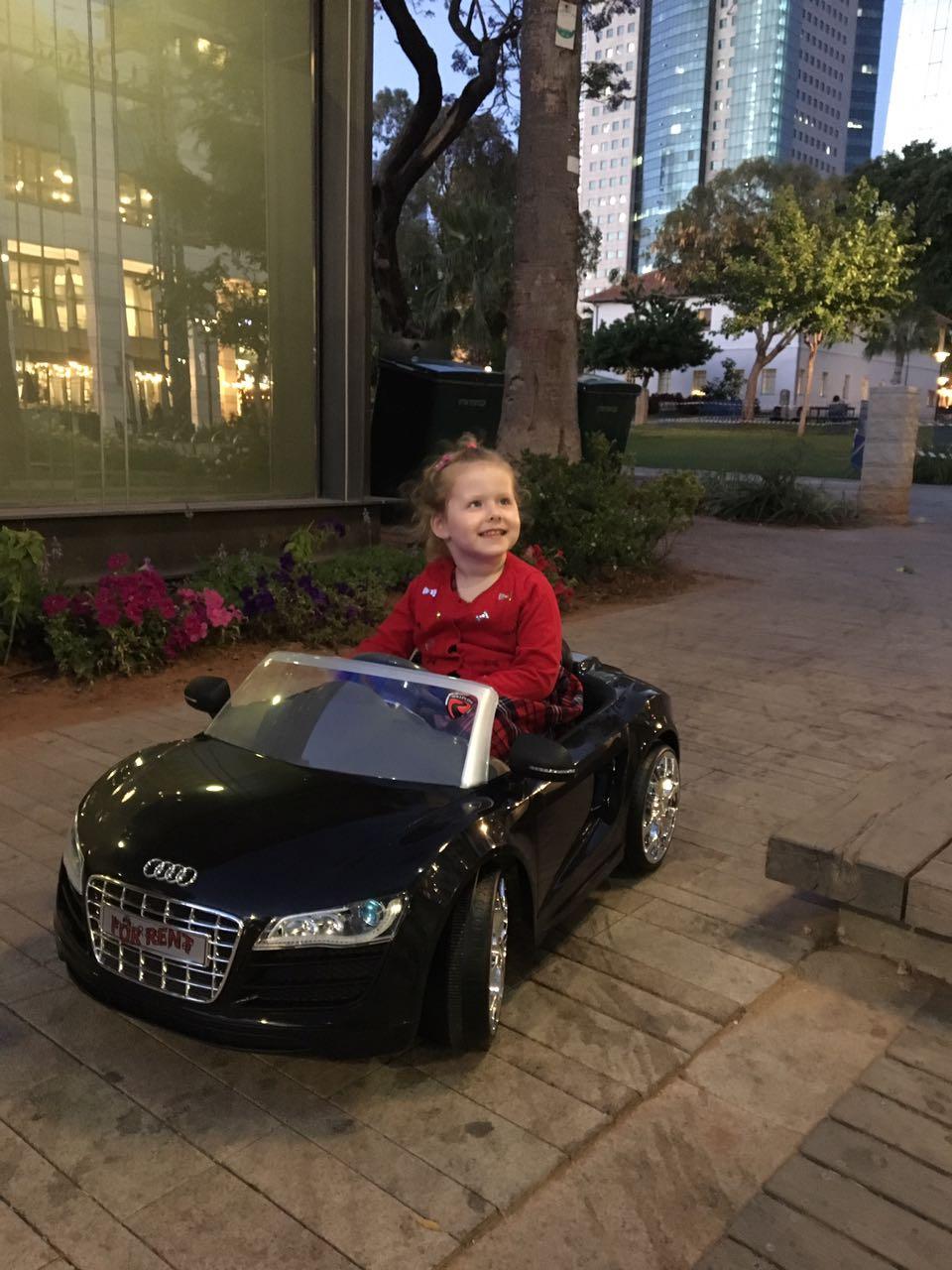 כל אחד והרכב שלו, כעת תוכלו לטייל בשקט בפארק שרונה -הרכב לילדך!